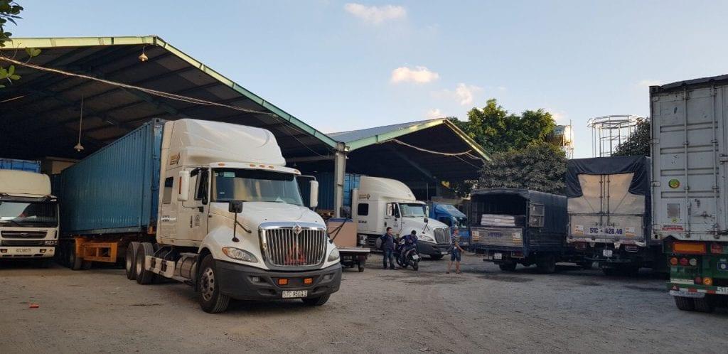 công ty dịch vụ vận tải container Á Đông
