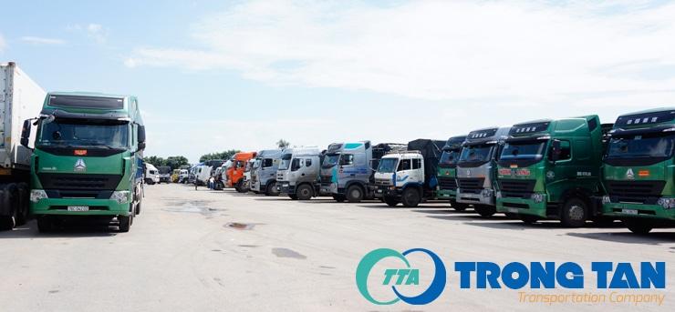 công ty dịch vụ vận tải container Trọng Tấn