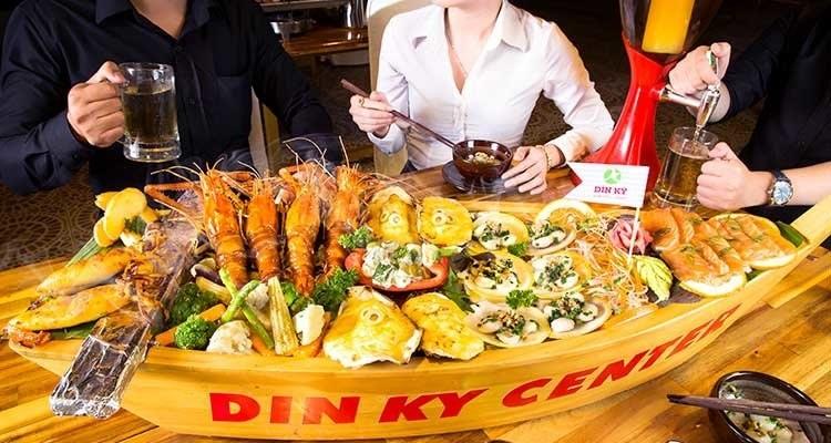 Quán ăn quận Tân Bình Dìn Ký