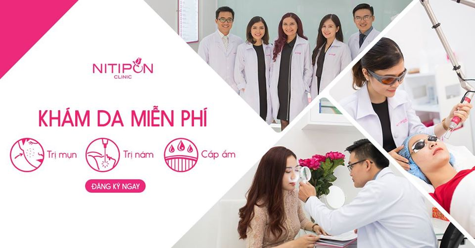 Spa trị mụn Quận 1 - Nitipon Clinic