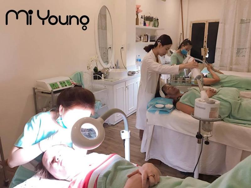Spa trị mụn Quận 11 - Mi Young Spa