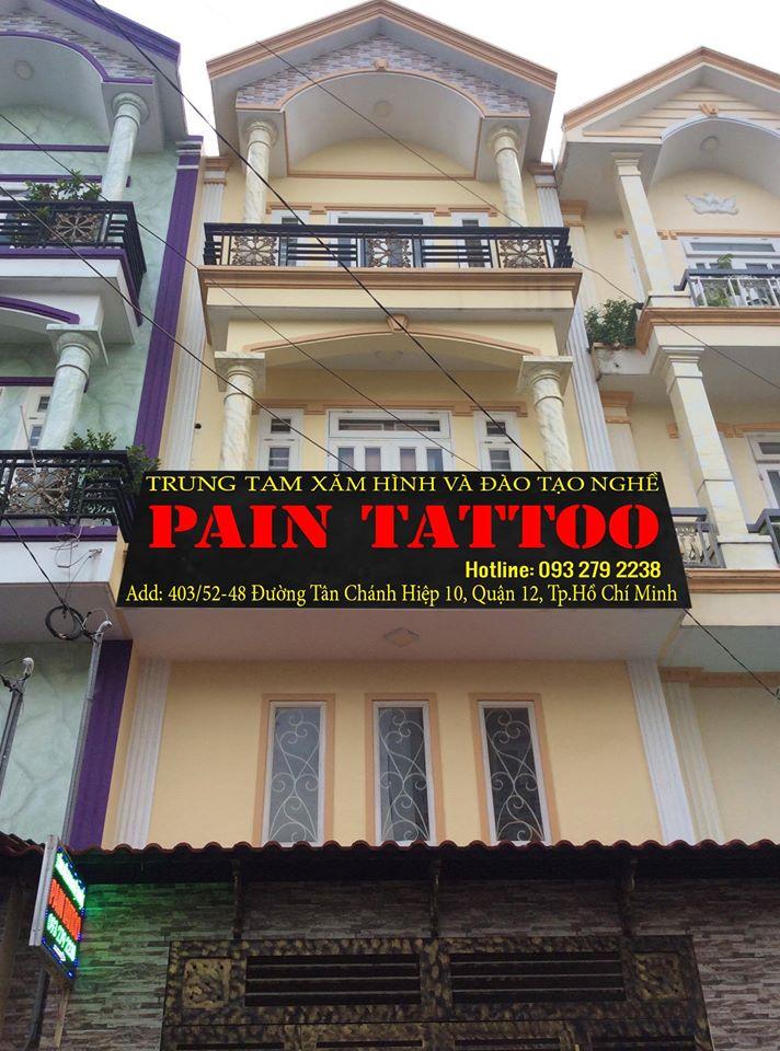 Trường dạy xăm hình nghệ thuật Pain Tattoo Aesthetic