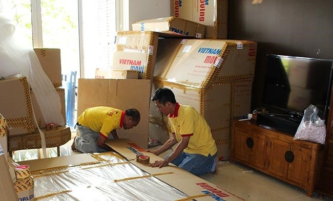 Dịch vụ chuyển nhà giá rẻ Quận 12 Vietnam Moving