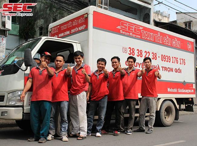 Dịch vụ chuyển nhà Quận 7 Saigon Express