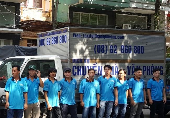 Dịch vụ chuyển nhà Quận 7 Vận tải Thành Phương