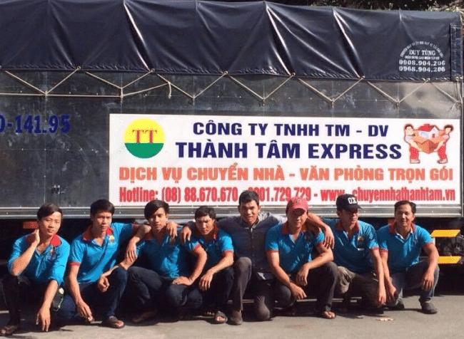 Chuyển nhà trọn gói giá rẻ quận 7 Thành Tâm Express