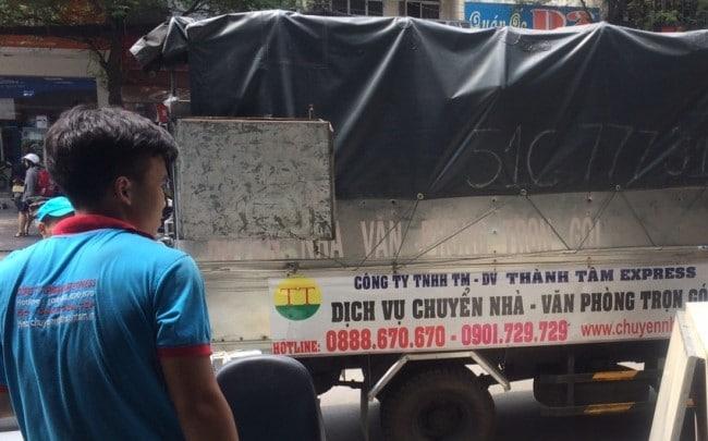 Chuyển nhà trọn gói giá rẻ quận Bình Thạnh-Thành Tâm Express