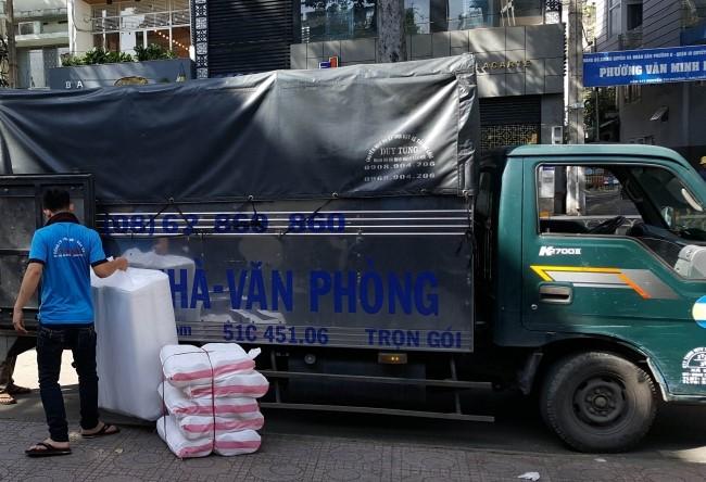 Chuyển nhà trọn gói giá rẻ quận Tân phú-Thành Công