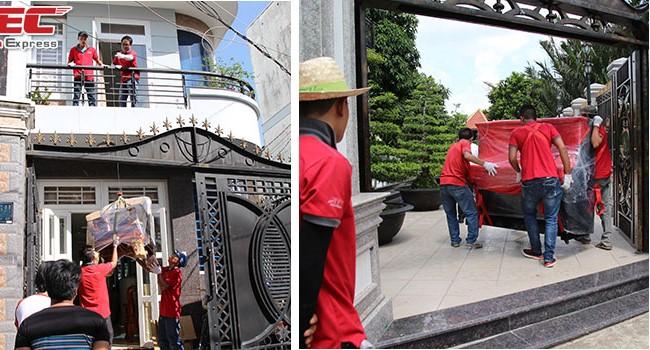 Chuyển nhà trọn gói giá rẻ quận 9 Sài Gòn Express