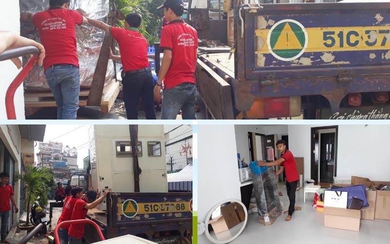 Chuyển nhà trọn gói giá rẻ quận 4 Sài Gòn Moving