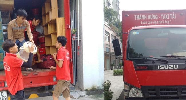 Chuyển nhà trọn gói giá rẻ quận 5 Taxi Tải Thành Hưng