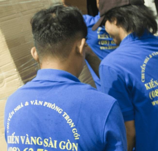 Chuyển nhà trọn gói giá rẻ quận 6 Kiến Vàng Sài Gòn