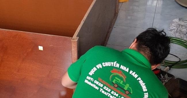 Chuyển nhà trọn gói giá rẻ quận 4 Taxi Tải 24H Sài Gòn