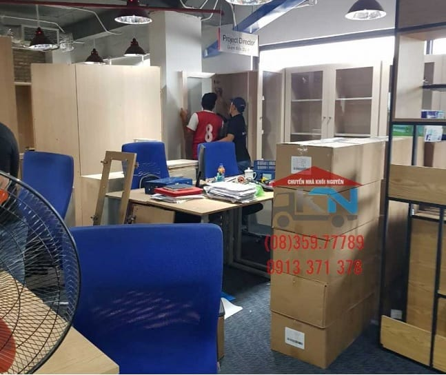 Chuyển văn phòng trọn gói Quận 1 - Khôi Nguyên
