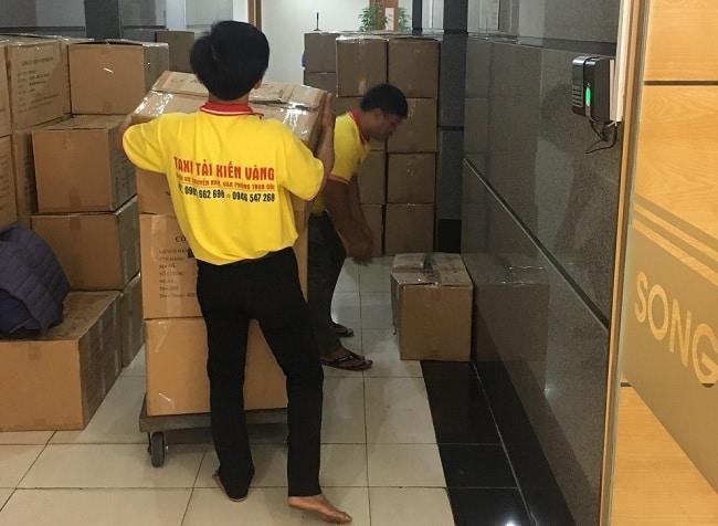 Chuyển văn phòng trọn gói Quận 1 - Kiến Vàng Sài Gòn