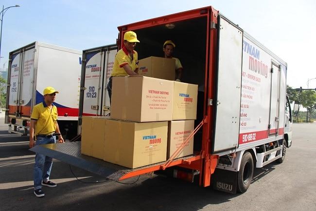 Chuyển nhà văn phòng trọn gói Quận 1 - Vietnam Moving