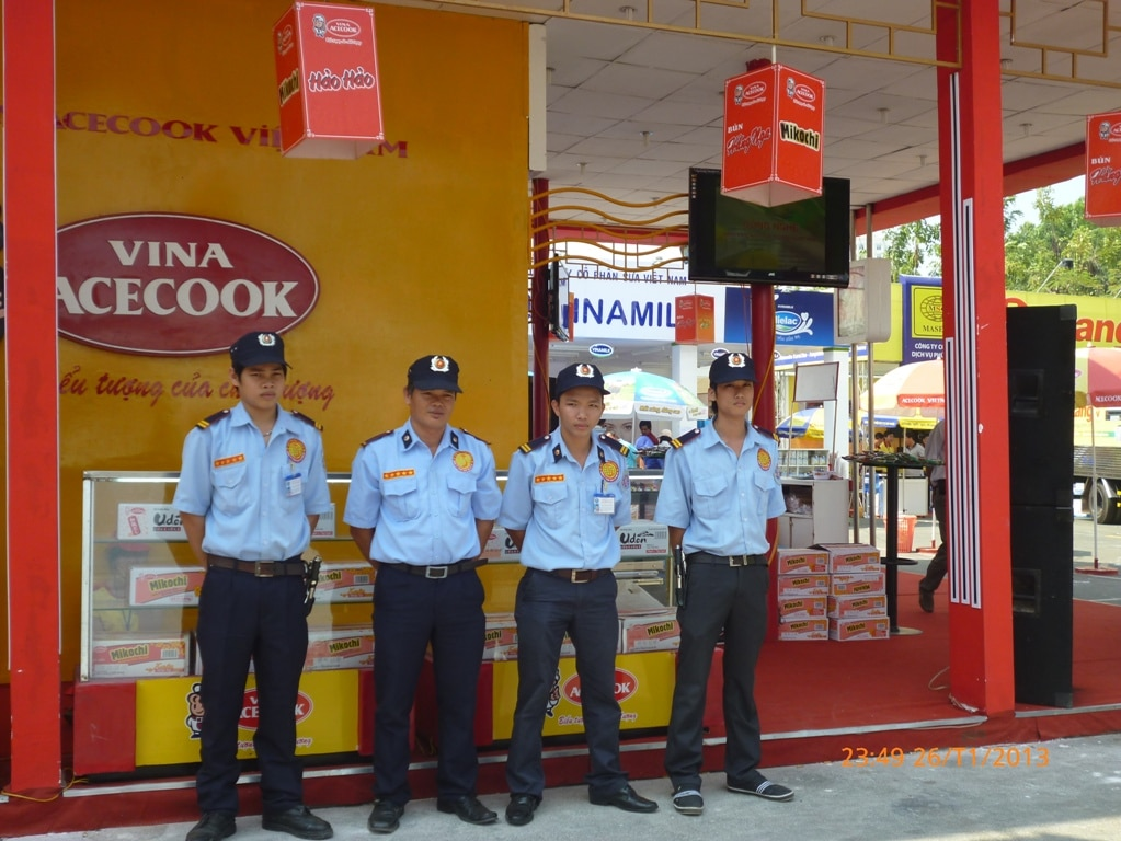 Công ty bảo vệ Quận Bình Tân - Hải Thiên Long