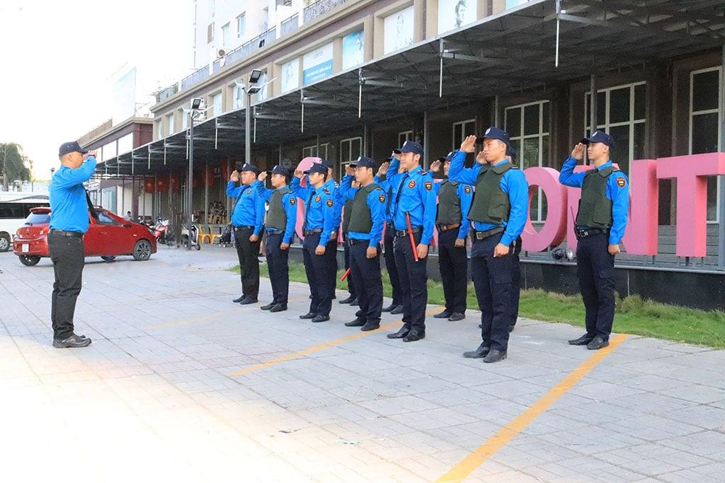 Công ty bảo vệ Quận Bình Thạnh - G8