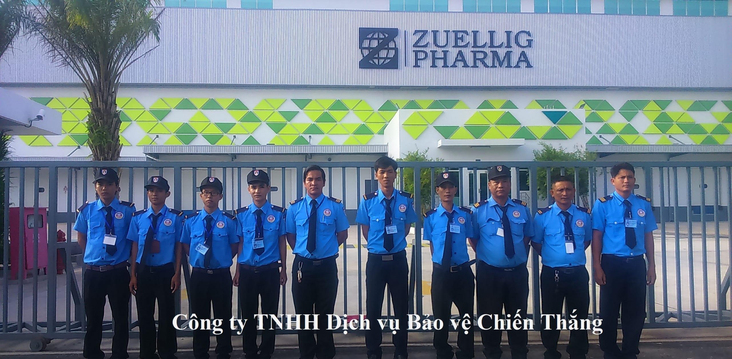 Công ty bảo vệ Quận Gò Vấp - Chiến Thắng