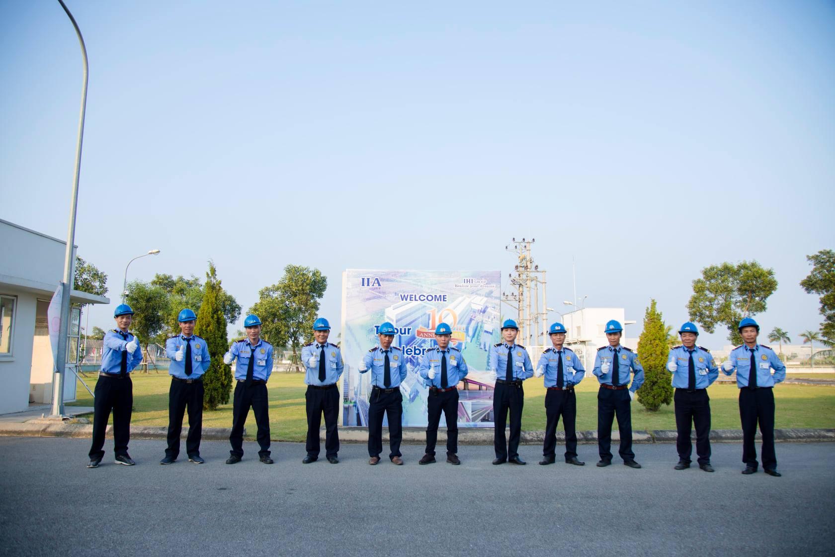 Công ty bảo vệ Quận Phú Nhuận - Thăng Long