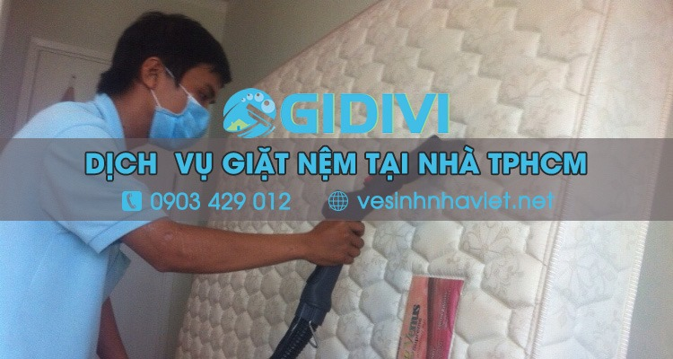 Dịch vụ giặt nệm - Gia Đình Việt