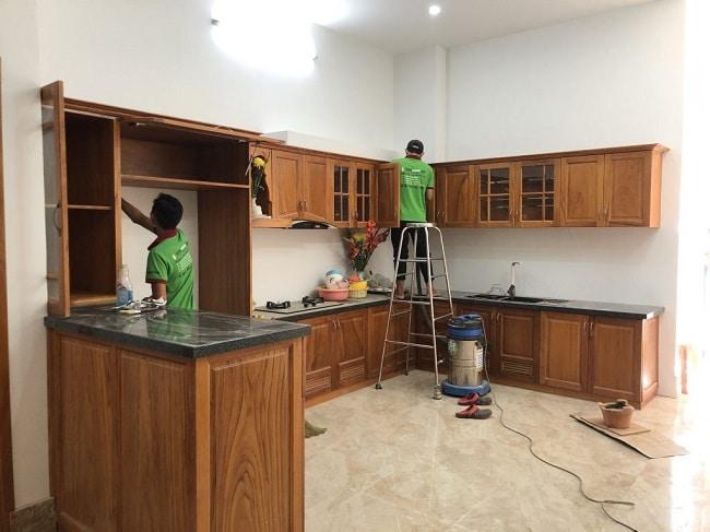 Giá dịch vụ vệ sinh nhà ở TPHCM - Không Gian Sạch
