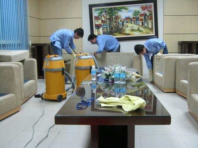 Giá dịch vụ vệ sinh nhà ở TPHCM - Minh Long