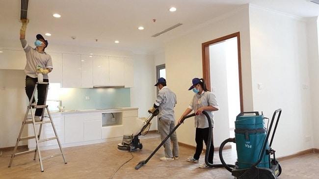 Giá dịch vụ vệ sinh nhà ở TPHCM - Tân Tiến