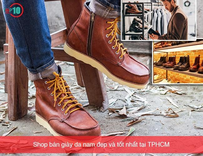 Shop bán giày da nam đẹp và tốt nhất tại TPHCM
