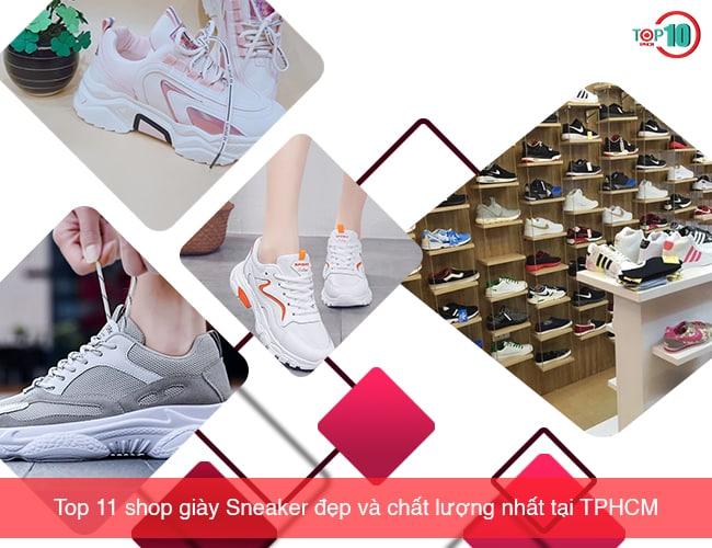 Shop giày sneaker chính hãng tại TPHCM