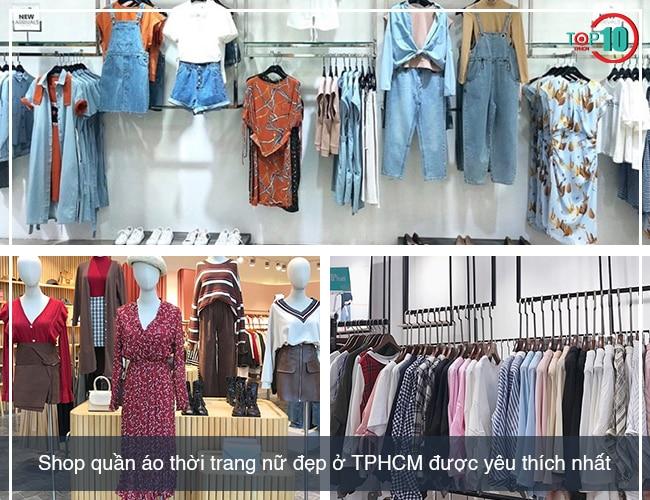 Shop quần áo thời trang nữ tại TPHCM