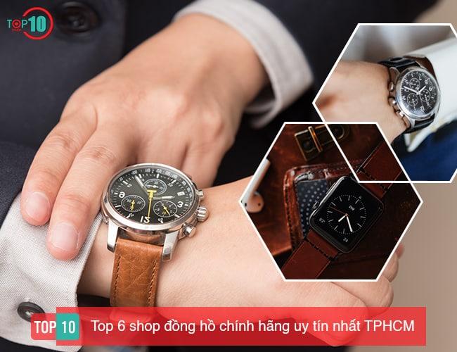 Shop đồng hồ chính hãng tại TPHCM