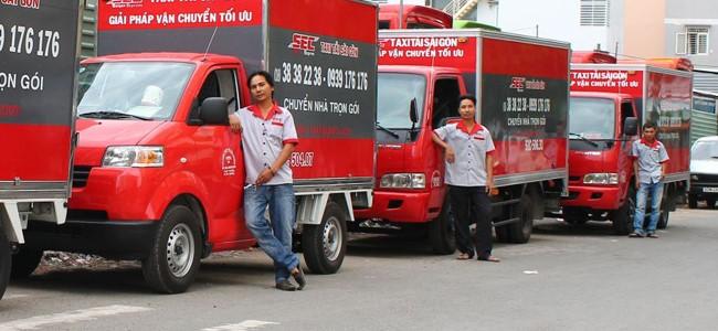 Chuyển nhà trọn gói giá rẻ huyện Củ Chi-Taxi Tải Sài Gòn