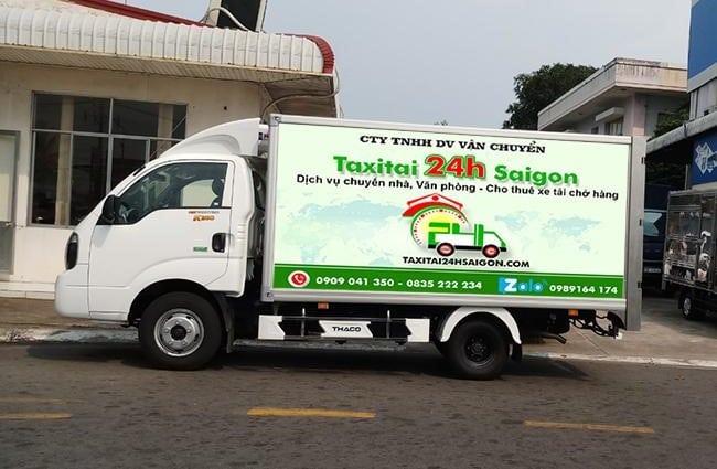 Chuyển nhà trọn gói giá rẻ huyện Nhà Bè-Taxi Tải 24H Sài Gòn
