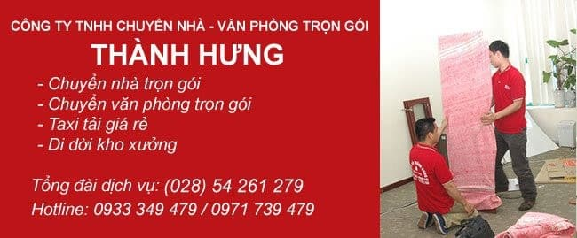 Chuyển văn phòng trọn gói giá rẻ huyện Bình Chánh-Thành Hưng