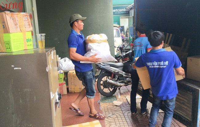 Chuyển văn phòng trọn gói giá rẻ huyện Cần Giờ-Phú Mỹ Express