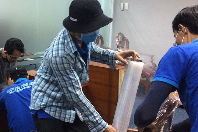 Chuyển văn phòng trọn gói giá rẻ huyện Củ Chi-Phú Mỹ Express