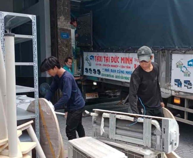 Chuyển văn phòng trọn gói giá rẻ huyện Nhà Bè-Đức Minh