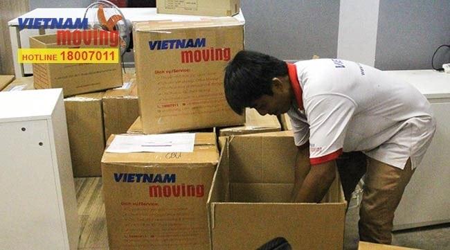 Chuyển văn phòng trọn gói giá rẻ quận 1-Vietnam Moving