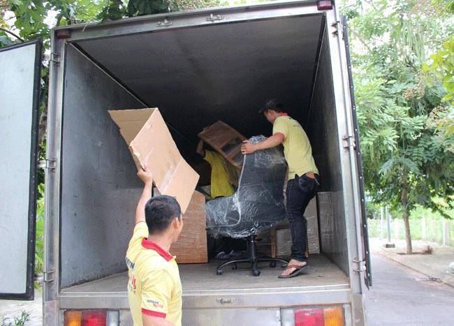 Chuyển văn phòng trọn gói giá rẻ quận 10-Vietnam Moving