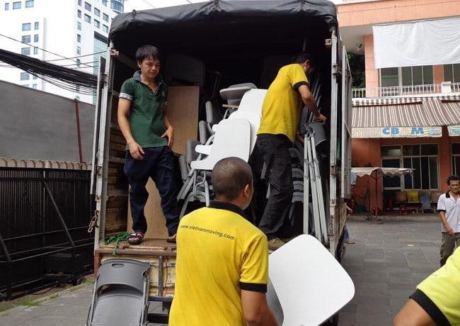 Chuyển văn phòng trọn gói giá rẻ quận 12-Vietnam Moving