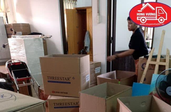 Chuyển văn phòng trọn gói giá rẻ quận 3-Hùng Vương