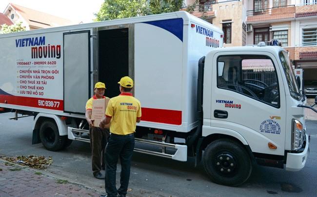 Chuyển văn phòng trọn gói giá rẻ quận 5-Vietnam Moving