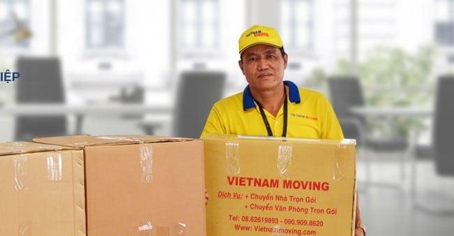 Chuyển văn phòng trọn gói giá rẻ quận 6-Vietnam Moving