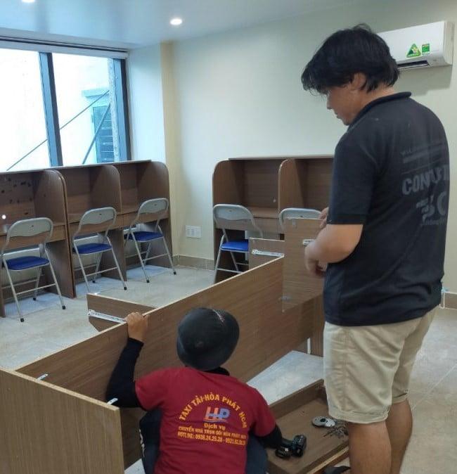 Chuyển văn phòng trọn gói giá rẻ quận 7-Hòa Phát