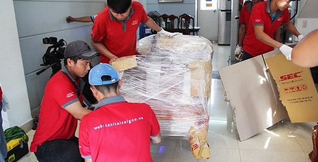 Chuyển văn phòng trọn gói giá rẻ quận 8-Sài Gòn Express