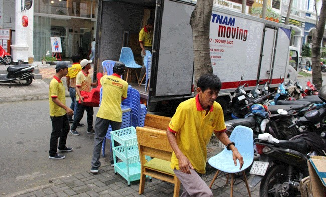 Chuyển văn phòng trọn gói giá rẻ quận 9-Vietnam Moving