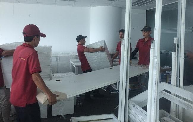 Chuyển văn phòng trọn gói giá rẻ quận Bình Tân-Moving House