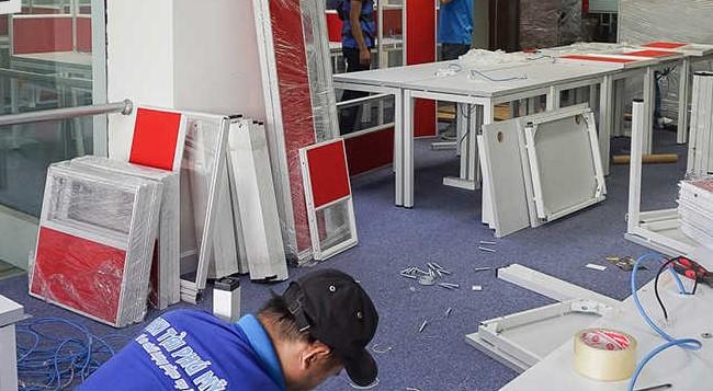 Chuyển văn phòng trọn gói giá rẻ quận Bình Tân-Phú Mỹ Express