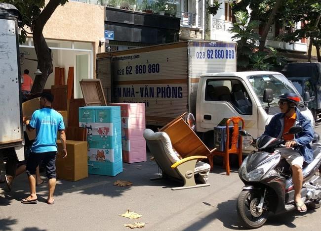 Chuyển văn phòng trọn gói giá rẻ quận Bình Thạnh-Thành Phương